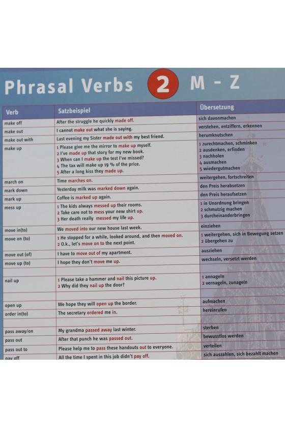 English Phrasal Verbs: M-Z