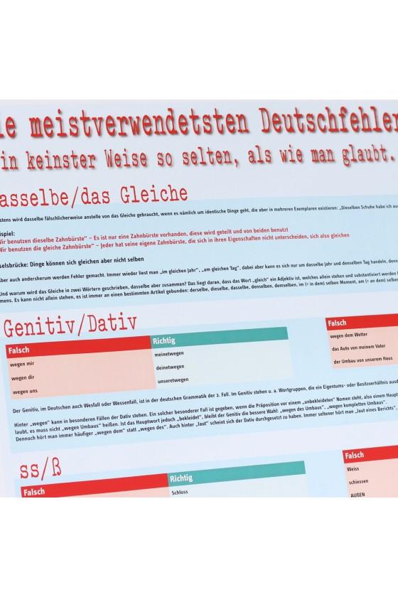 Häufige Deutschfehler
